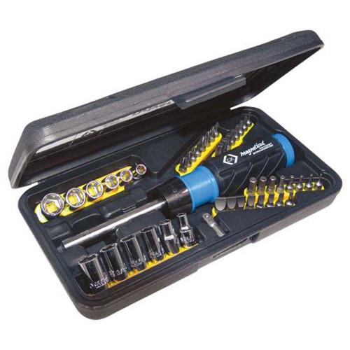 CK Professional Socket & Driver Set, 46 Piece, 6mm - 13mm