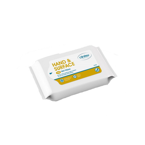 Hand & Surface Anti Bac Wipes, 100 Per Pack (270 x 200mm)