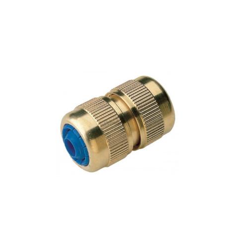 Hose to Hose Brass Quick Connector - 1/2