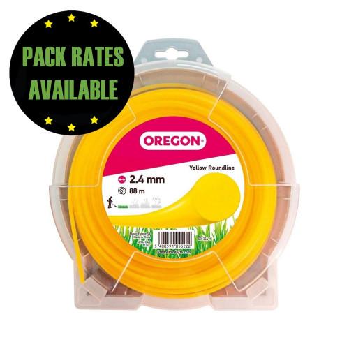 Oregon Yellow Roundline 2.4mm x 88m