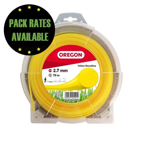 Oregon Yellow Roundline 2.7mm x 70m