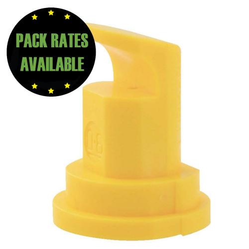 Polijet Anvil Nozzle - Yellow